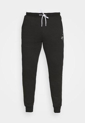 METALLIC UNISEX  - Pantalon de survêtement - black
