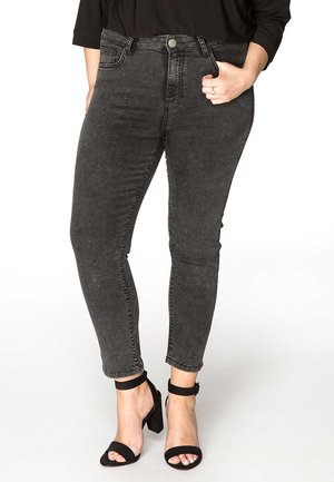 Slim fit jeans - grey washed