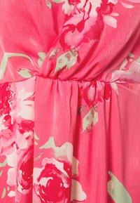 Vila - VIALBERTE ANCLE DRESS - Vestido de cóctel - azalea pink - 2
