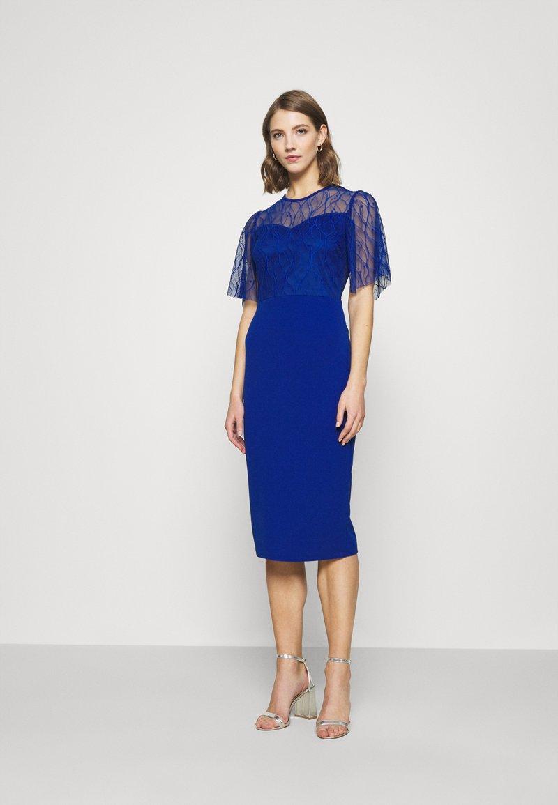 WAL G. - RYENA MIDI DRESS - Cocktail dress / Party dress - electric blue