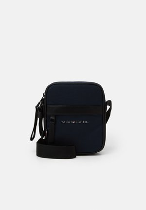ELEVATED MINI REPORTER UNISEX - Across body bag - blue