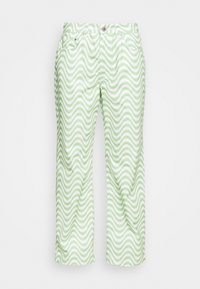 The Ragged Priest - PRISM - Straight leg jeans - lime/white - 3