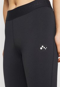 ONLY PLAY Petite - ONPGILL HISS BRUSHED TRAIN TIGH - Leggings - Trousers - black - 5