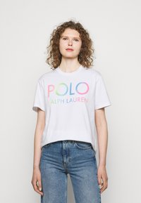 Polo Ralph Lauren - T-shirts med print - white - 0