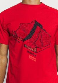 Mammut - MOUNTAIN - Print T-shirt - magma - 4