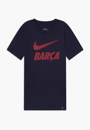 FC BARCELONA TEE GROUND - Club wear - obsidian