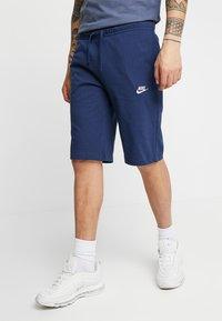 Nike Sportswear - CLUB - Pantalon de survêtement - midnight navy/white - 0