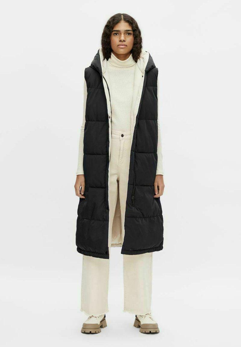 Object - OBJARIA - Waistcoat - black