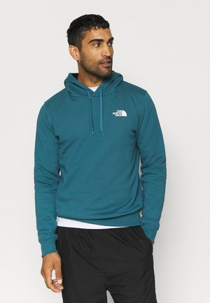 SEASONAL DREW PEAK - Bluza z kapturem - mallard blue