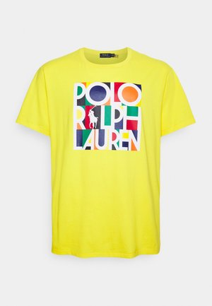 Printtipaita - racing yellow