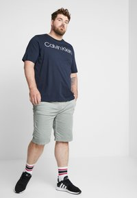 Calvin Klein - FRONT LOGO - T-Shirt print - blue - 1
