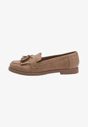 CREPE SOLE LOAFERS - Półbuty wsuwane - brown