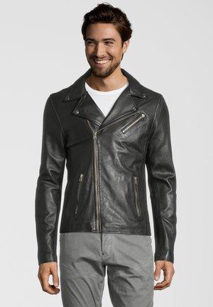 GC VICK  - Leather jacket - comet