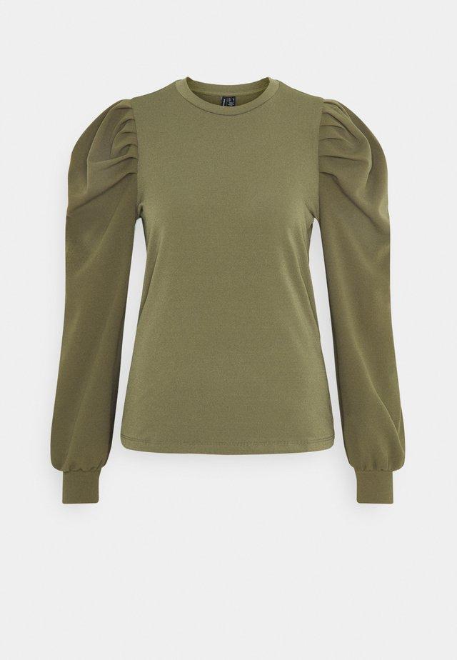 VMLENORE PUFF - Long sleeved top - kalamata
