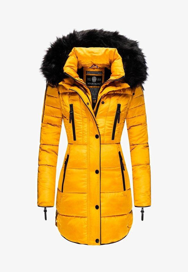 MOONSHINE - Winter coat - yellow