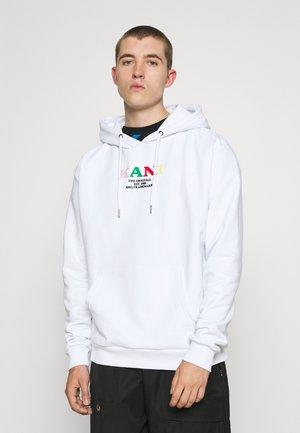 UNISEX RETRO HOODIE - Sweatshirt - white