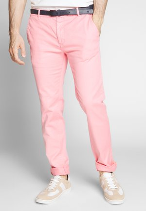 MOTT CLASSIC GARMENT DYED - Chinos - hibiscus pink