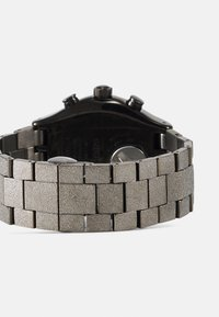 Swatch - SILVER EXPLOSION - Chronograph watch - silver-coloured - 1