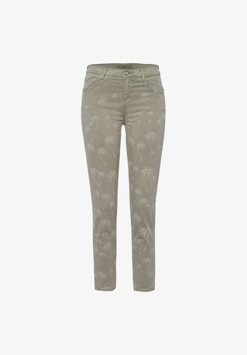 STYLE SHAKIRA  - Jeans Skinny Fit - laser palm khaki