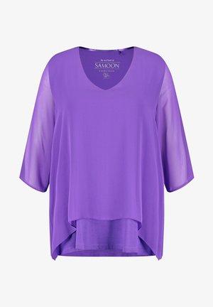 3/4 ARM - Blouse - royal lilac