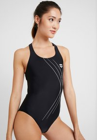 Arena - SOUL SWIM PRO BACK ONE PIECE - Swimsuit - black - 1