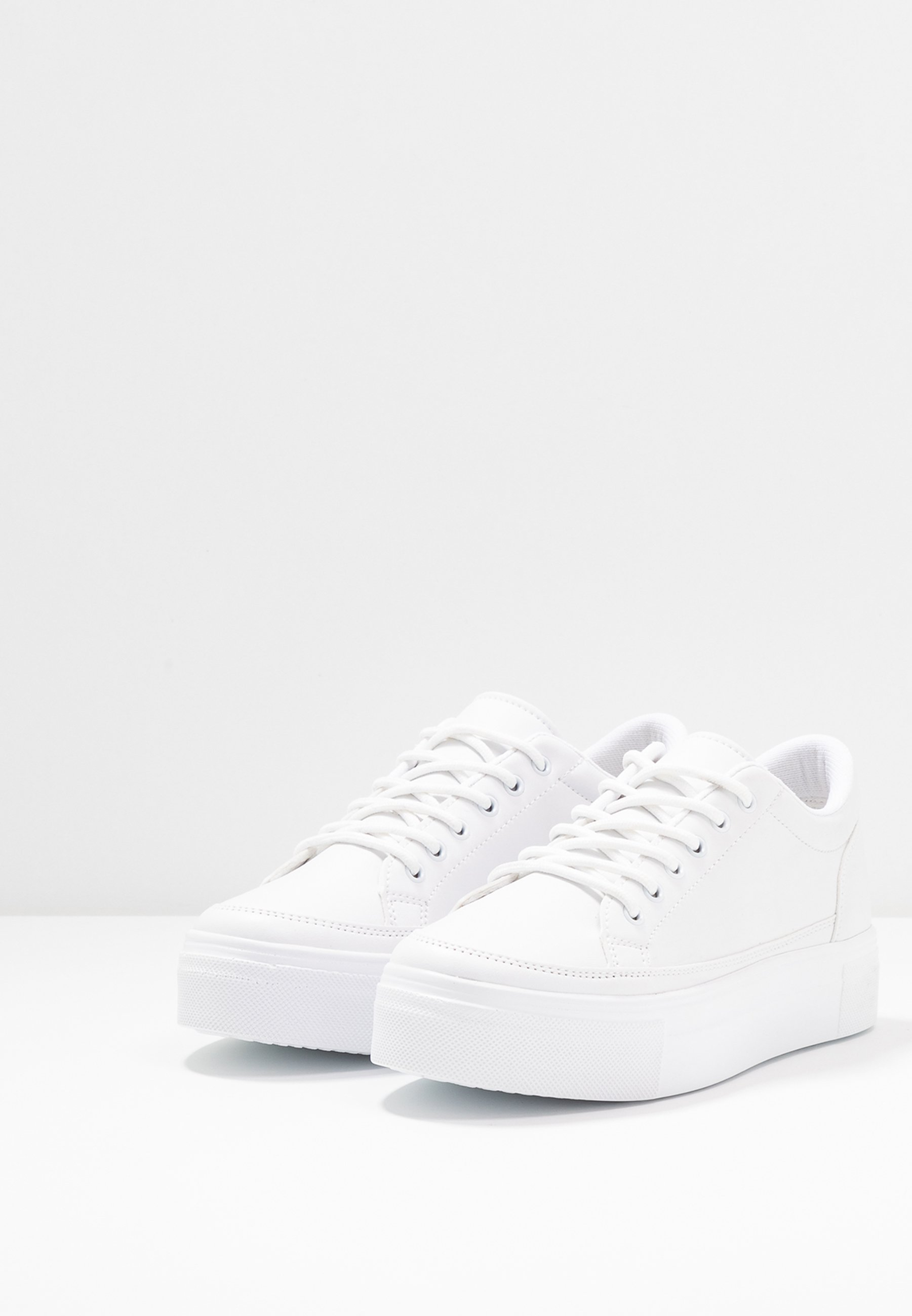 Nly By Nelly Perfect Platform - Joggesko White/hvit