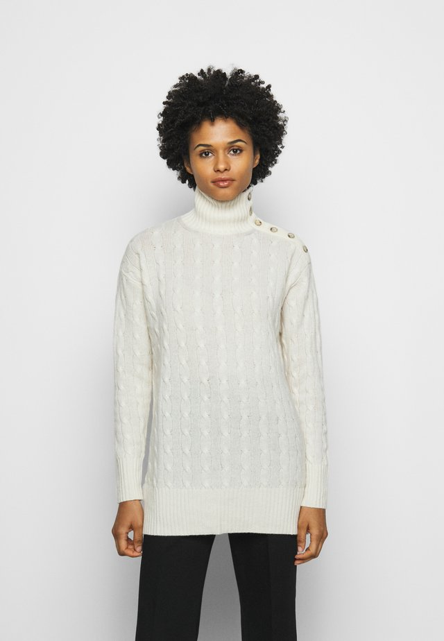 BLEND - Maglione - cream