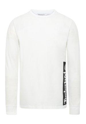 LS ESTABLISHED - Bluzka z długim rękawem - white