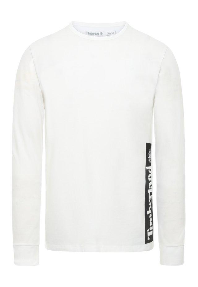 LS ESTABLISHED - Pitkähihainen paita - white