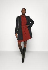 Zign - Shirt dress - dark red - 1