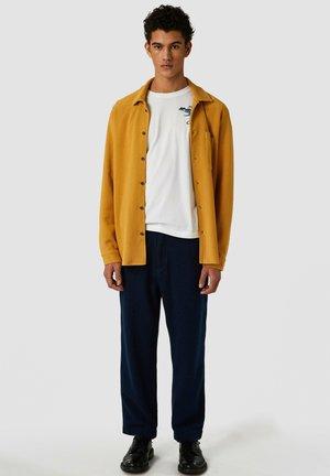 Straight leg jeans - indigo panama