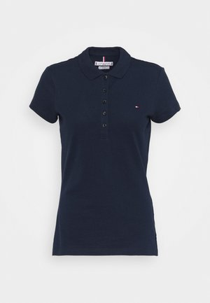 HERITAGE SHORT SLEEVE - Polo - midnight