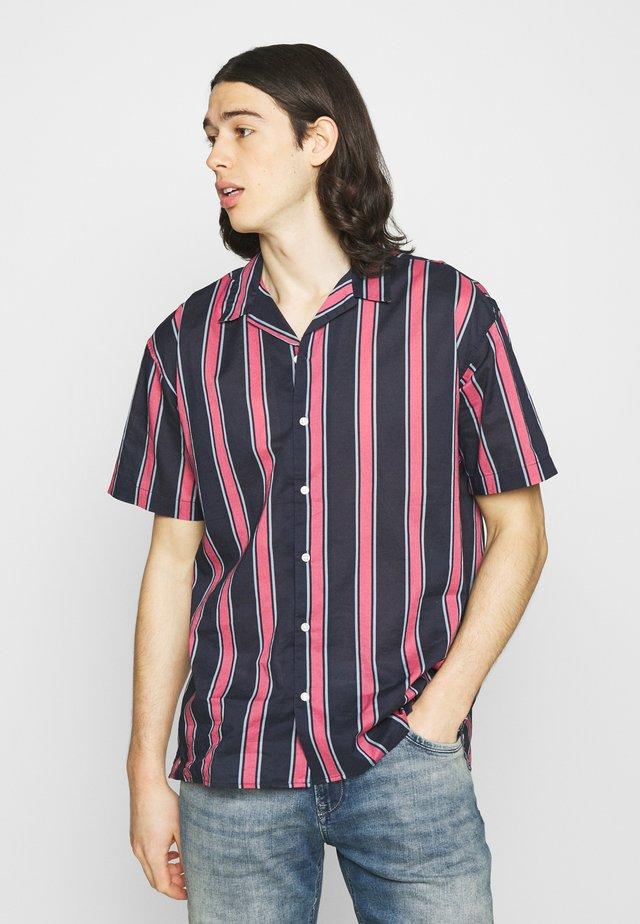 JJGREG STRIPE SHIRT - Shirt - slate rose