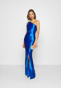 WAL G. - ONE SHOULDER MAXI DRESS - Suknia balowa - electric blue - 1
