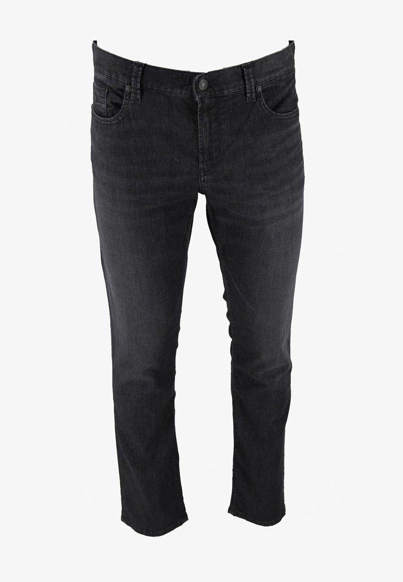 ALBERTO Pants - PIPE - Slim fit jeans - schwarz