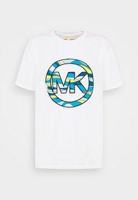 MICHAEL Michael Kors - GRAPHIC  - Print T-shirt - white - 4