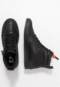 Diesel - S-DVELOWS MID - Sneakersy wysokie - black - 1
