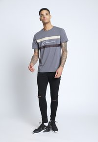 CLOSURE London - SPRAY ON RIPPED - Jeans Skinny Fit - black - 1
