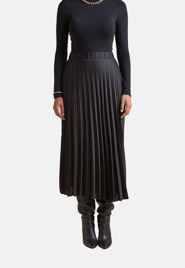 A-line skirt - nero