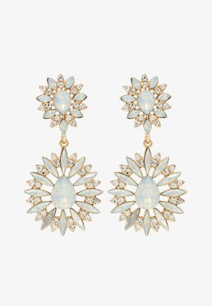 ONLTWOFLOWER EARRINGS - Earrings - gold-coloured