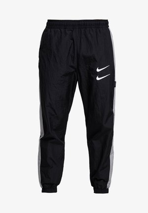 Pantalones deportivos - black/particle grey/white