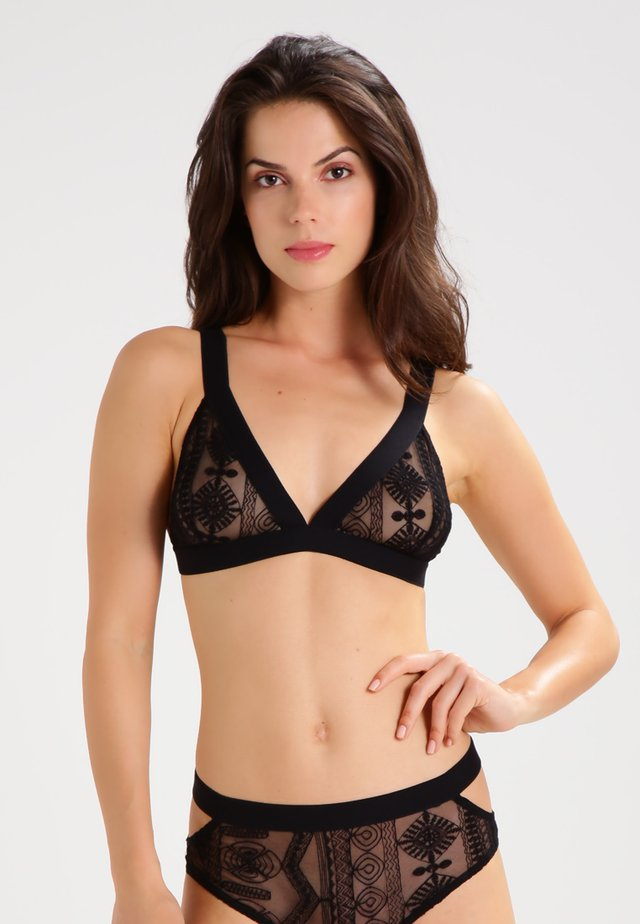 BE SEXY - Triangel BH - black