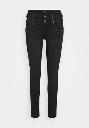 RAMPY - Slim fit jeans - black denim