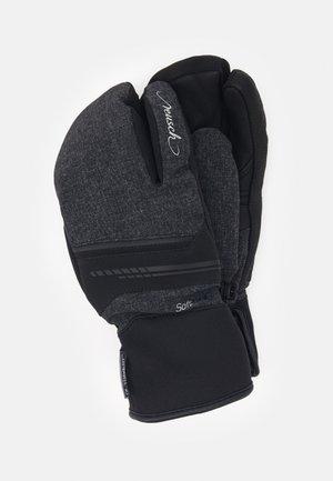 TOMKE STORMBLOXX™ LOBSTER - Mittens - black/black melange