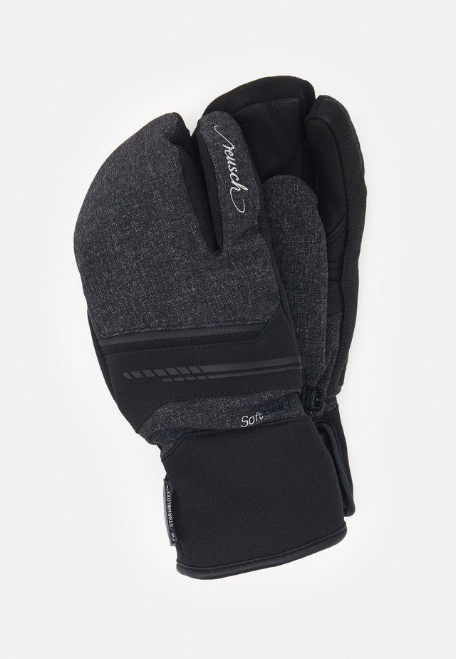 TOMKE STORMBLOXX™ LOBSTER - Gloves - black/black melange