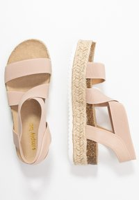 Simply Be - WIDE FIT DELAWARE - Loafers - nude - 3