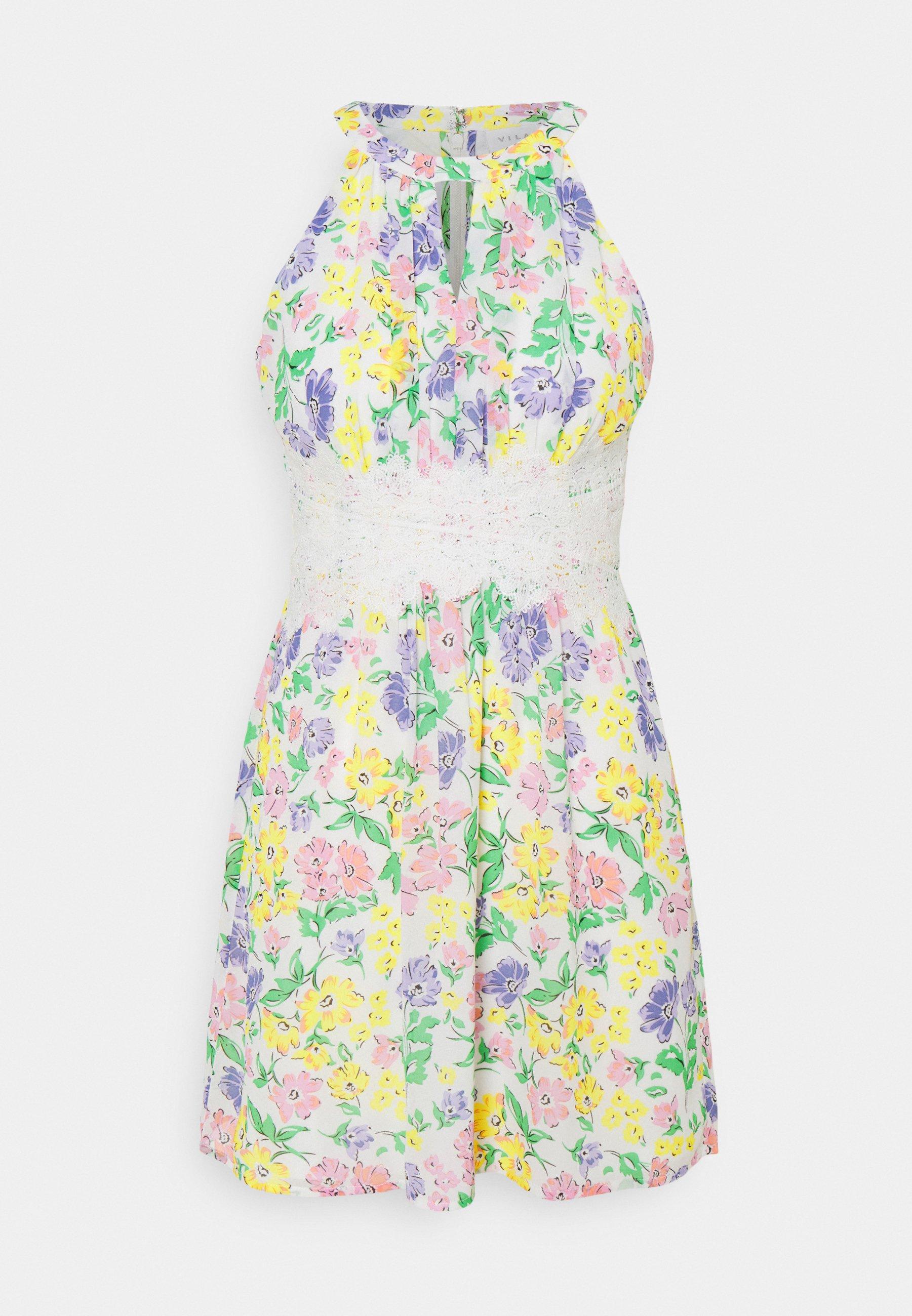 Women VIMILINA FLOWER DRESS PETITE - Day dress