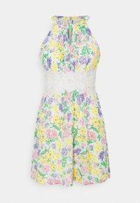 VILA PETITE - VIMILINA FLOWER DRESS PETITE - Day dress - snow white - 0