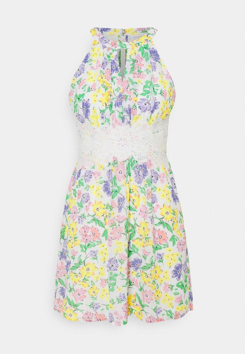 VILA PETITE - VIMILINA FLOWER DRESS PETITE - Day dress - snow white