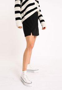 Pimkie - A-line skirt - schwarz - 3